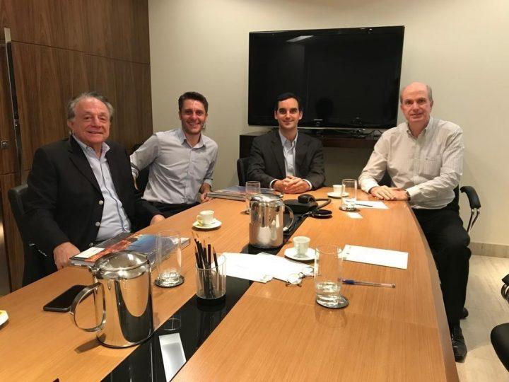 Diretoria da ABEMI se reúne com deputado federal do PPS e presidente da FDQuímica