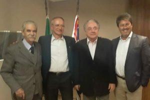 Especialistas da Petrobras ministram palestra sobre pré-sal na sede da ABEMI